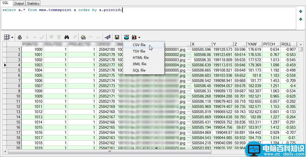 Oracle数据表,Shapefile文件