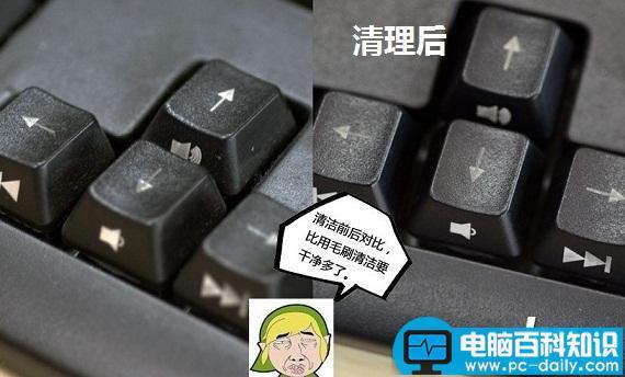电脑键盘全图清楚的_电脑键盘怎么清理 史无前例的电脑键盘清理方法 - 电脑知识学习网